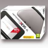 Consola nintendo 3DS xl plata sd + 4GB