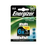 Blister energizer dos pilas aa recargables hr-6 2300mah extreme 1.2v
