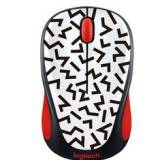 Mouse logitech m238 party collection zigzag-red wireless