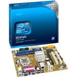 Placa base intel bldg41wv,  intel / core 2 duo,  lga 775,  DDR3 1066 4GB,  pci,  USB 3.0,  micro ATX