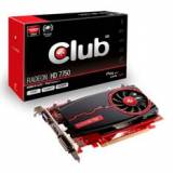 VGA ati radeon HD 7750 4GB,  DDR3  PCI express VGA dvi HDMI club 3d