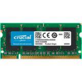 Memoria portátil DDR2 2GB crucial / dimm 200 / 800mhz / pc2 6400 / cl 6 / 1.8v