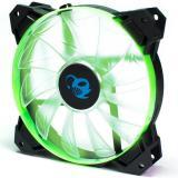 Ventilador gaming coolbox deepgaming deepwind LED verde 120mm