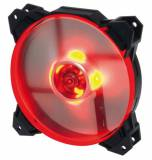 Ventilador gaming coolbox deepgaming deepwind LED rojo 120mm