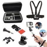 Kit pack set 7 en 1 accesoriOS Phoenix para go pro hero 1 2 3 3+ 4 y cámaras deportivas