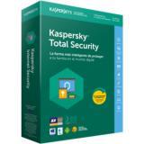 Antivirus kaspersky total security 2018 5 licencias