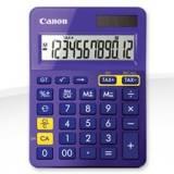 Calculadora canon sobremesa ls-123k morado