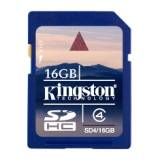 Tarjeta memoria secure digital sd hc 16GB kingston