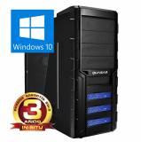 Ordenador Phoenix gaming shogun intel core i7k 6º gen, VGA g-force gtx 1060 6GB DDR5, 16GB DDR4 2400,128GB ssd + 2tb, rw, w10