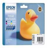 Multipack epson t055640 rx-420 / 4285 / 520 pato de