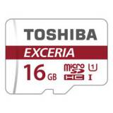 Tarjeta memoria micro secure digital sd 16GB uhs-1 clase 10 toshiba con adaptador