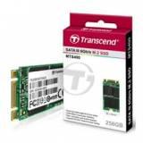Disco duro interno solido SSD transcend ts256gmts400 256GB,  m.2 type 2242 mlc,  SATA IIi 6GB / s