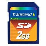 Tarjeta memoria secure digital 2GB transcend sd 