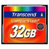 Tarjeta memoria compact flash 32GB transcend 133x