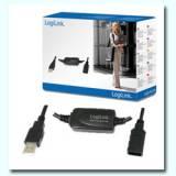 Amplificador USB 2.0  logilink 15m
