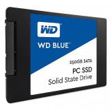 "Disco duro interno solido HDD SSD wd western digital blue 250GB 2.5"" SATA 6 GB / s"