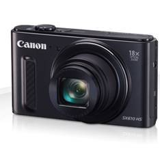 CAMARA DIGITAL CANON POWERSHOT SX610 HS 20.2MP/ ZOOM 36X/ ZO 18X/ 3''/ FULL HD/ NEGRA