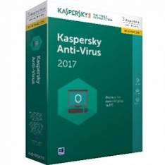 ANTIVIRUS KASPERSKY RENOVACION ANTIVIRUS 2017 3 LICENCIAS
