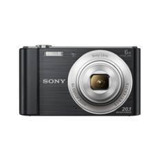 KIT CAMARA DIGITAL SONY KW810B 20.1MP ZO 6X VIDEO HD NEGRA + FUNDA + SD8GB