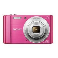 KIT CAMARA DIGITAL SONY KW810P 20.1MP ZO 6X VIDEO HD ROSA+ FUNDA + SD8GB