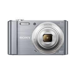 KIT CAMARA DIGITAL SONY KW810S 20.1MP ZO 6X VIDEO HD PLATA + FUNDA + SD8GB