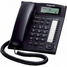 TELEFONO SOBREMESA PANASONIC KX-TS880EXB NEGRO