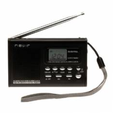 RADIO NEVIR AM FM DISPLAY DIGITAL RELOJ ALARMA AURICULARES