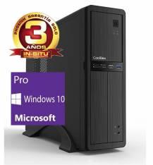 Ordenador de oficina Phoenix oberon pro Intel Core i3 6º gen,  4GB DDR4,  500 GB,  rw,  micro ATX slim,  windows 10 profesional PC sobremesa