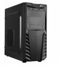 Caja ordenador ATX apc33,  2 USB2.0,  fuente 500w,  negra oem