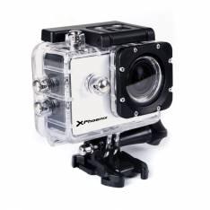 """Video cámara deportiva sport Phoenix phtravelercam pantalla 1, 5"""" TFT,  fHD 1080p 30fps,  12mpx,  resistente 30m,  estabilizador de imagen,  micro HDMI,  incluye accesoriOS,   color plata"""