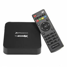 ANDROID TV BOX QUAD CORE @ 1.5 GHz PHOENIX PHTVBOX4K   ANDROID 5.1   1GB DDR3   8GB   RESOLUCION 4K 2160p    ETHERNET   WIFI   4 X USB   MICRO SD   HDMI 2.0   INCLUYE MANDO Y CABLE HDMI 1.4 NEGRO