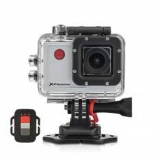 "Video cámara sport Phoenix xsport wi-fi pantalla 2.0"",  fHD,  mando a distancia,  12mpx,  estabilizador de imagen,  micro HDMI,  mando control remoto,  compatible Android   iOS,  incluye accesoriOS plata"