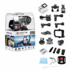 VIDEO CAMARA DEPORTES ACCION SWISS GO  SG 4.0  4K 30fps WIFI CHIP AMBARELLA A12 MANDO A DISTANCIA LCD 2