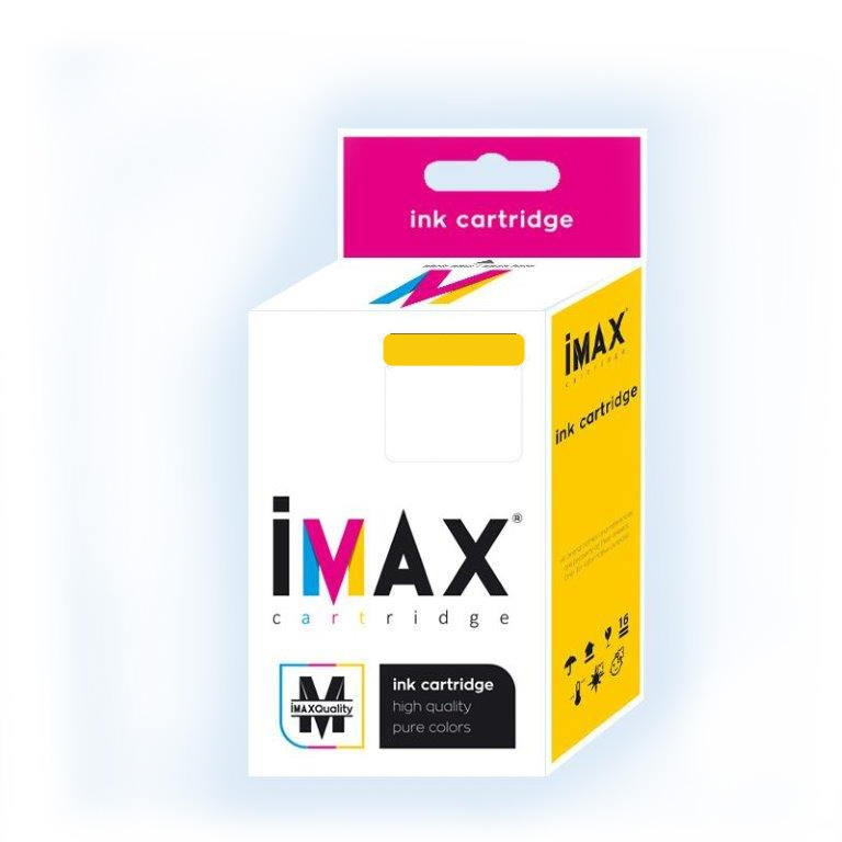 Cartucho Tinta Imax Lc980  /  Lc1100y  Amarillo Brother (10.6ml) Dcp145c / 165c / 185c / mfc6490cw /