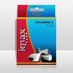 Cartucho Tinta Imax Lc985 C Cyan Compatible Brother Dcpj125c / j315 / j515 / j220 / j265w / j410 / j