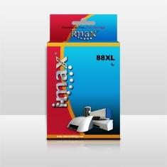Cartucho Tinta Imax C9391a Nº88 Xl Cyan Hp (30.5ml)  K550 /  K5400 /  K8600 /  L7480 /  L7580 /  L75