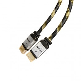 Cable Hdmi 1.4 Macho Macho  Conexion Oro 1.8m Gris / negro 127900