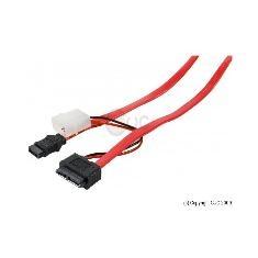 Cable Sata  +  Molex Para Mini Sata Datos Y Alimentacion 50 Cm 146330
