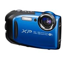 Camara Digital Fujifilm Finepix Xp80 Azul 16.4 Mp Zo X 5 Hd Lcd 2.7 Pulgadas Acuatica 15 Metros Full