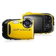 Camara Digital Fujifilm Finepix Xp80 Amarilla 16.4 Mp Zo X 5 Hd Lcd 2.7 Pulgadas Acuatica 15 Metros