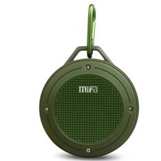 Altavoz Bluetooth Portatil F10 Sd Verde Army 203097