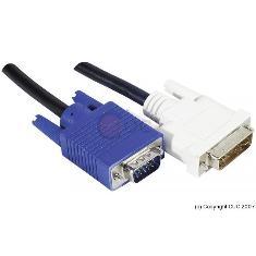 Cable Monitor Dvi Simple A Vga Macho Macho 3m 2040228