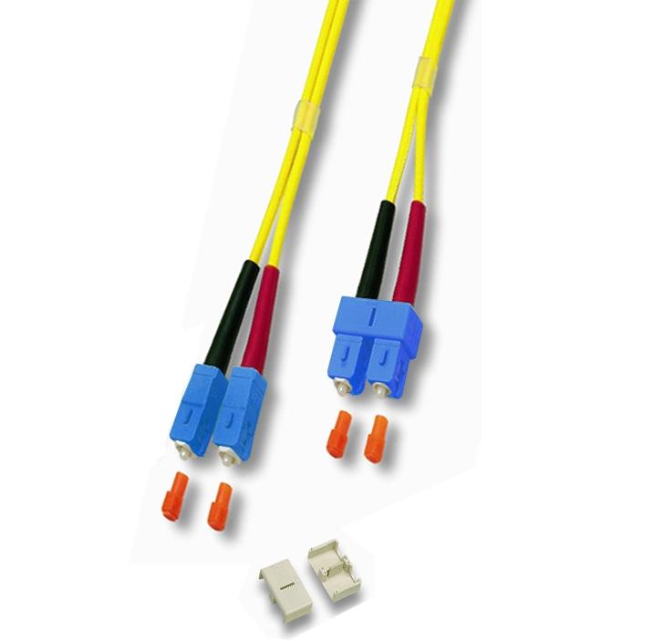 Cable Fibra Optica Duplex Monomodo 9 / 125 Sc / sc 1m 2070742
