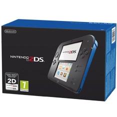 Consola Nintendo 2ds Azul Y Negro 2202350