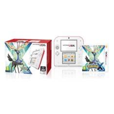Consola Nintendo 2ds Roja Y Blanca  +  Pokemon X 2203181