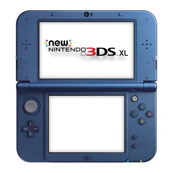 Consola Nintendo 3ds Xl Nueva Azul Metal 2205999