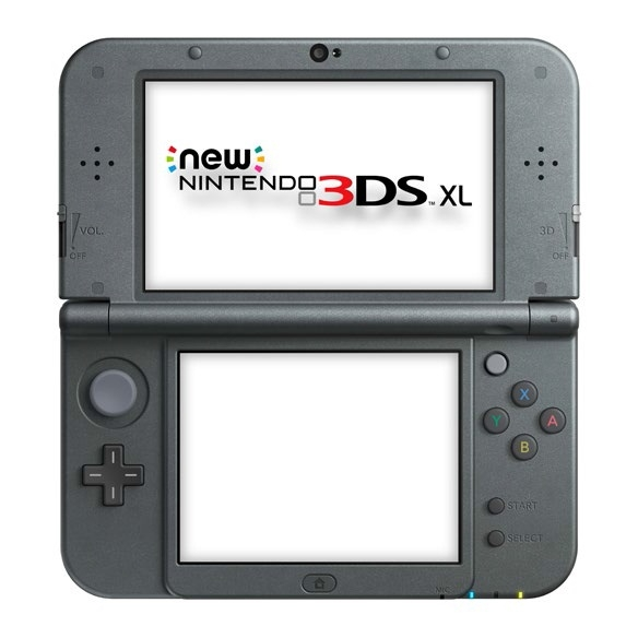 Consola Nintendo 3ds Xl Nueva Negro Metal 2206099