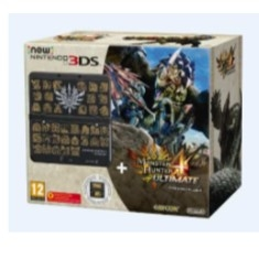 Consola Nintendo 3ds  +  Monster Hunter 4 Preinstalado  +  Cubierta Monster Hunter 4 2207299