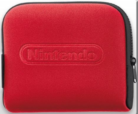 Accesorio Nintendo 2ds Funda Negro  /  Rojo 2211066