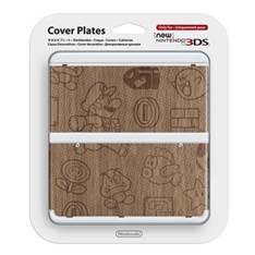 Cubierta Consola Nueva Nintendo 3ds Mario Madera 2212566